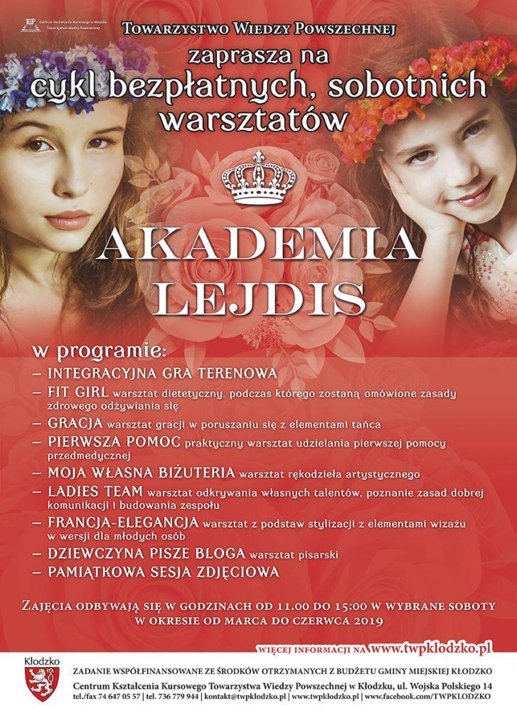 Obrazek posiada pusty atrybut alt; plik o nazwie TWP-Taurogińska-Magdalena-AKADEMIA-LEJDIS-plakat-A3-v2-kopia1-727x1024.jpg